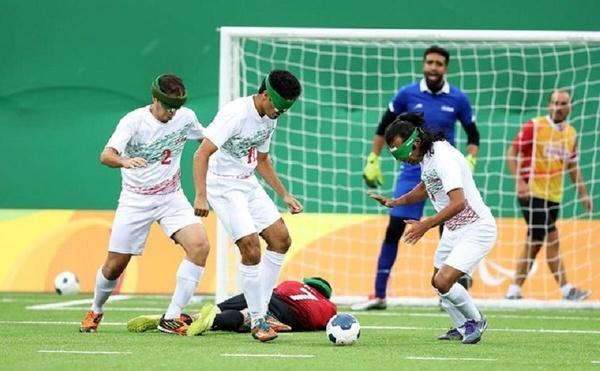 تیم فوتبال پنج نفره ایران سهمیه پارالمپیک 2020 توکیو را کسب کرد