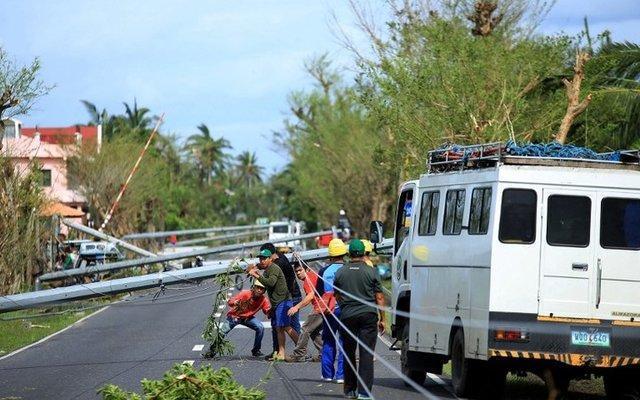 طوفان در فیلیپین 10 کشته برجا گذاشت