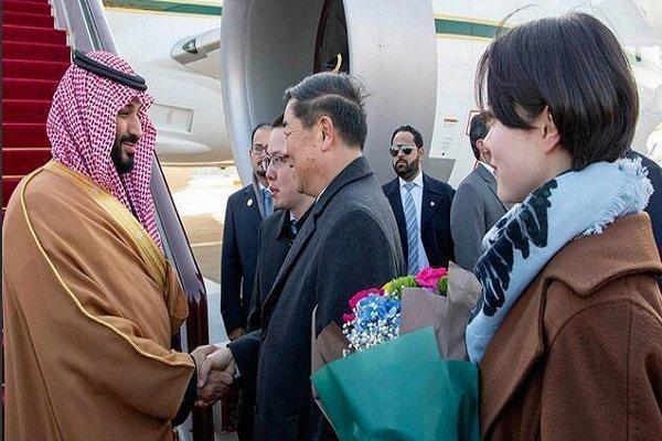 محمد بن سلمان وارد چین شد