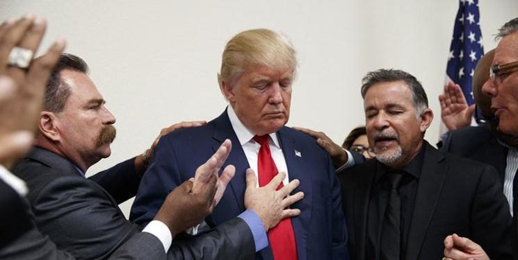 ترامپ برای حفظ رأی اونجلیست ها به تکاپو افتاد