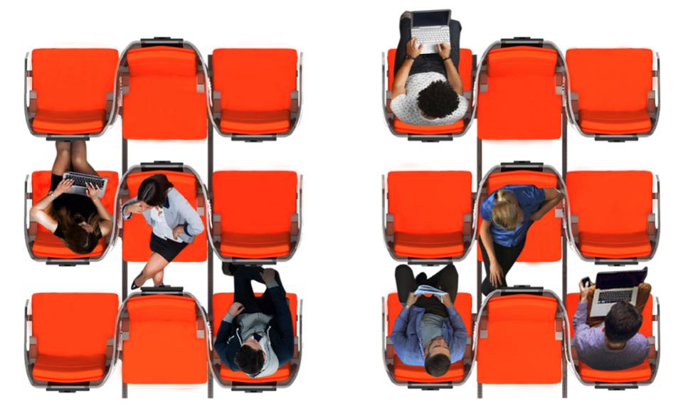 ایده ای تازه برای جایگاه های هواپیما در دوره کرونا