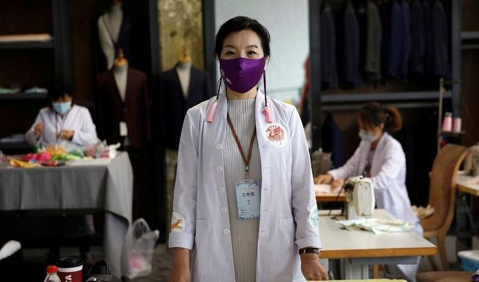 ورود تجهیزات حفاظتی به صنعت فشن، فراوری ماسک لوکس در چین (