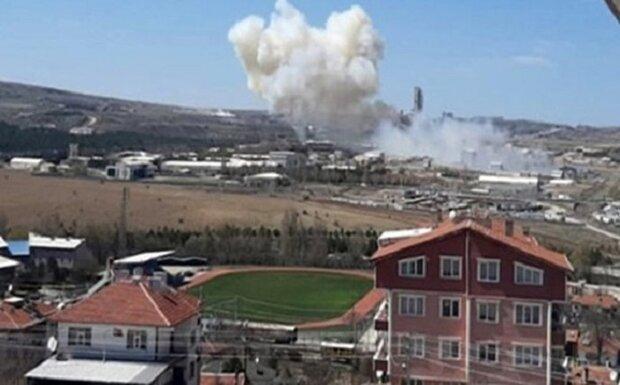 انفجار های عظیم در شمال غرب ترکیه، 2 کشته و 73 زخمی تا این لحظه