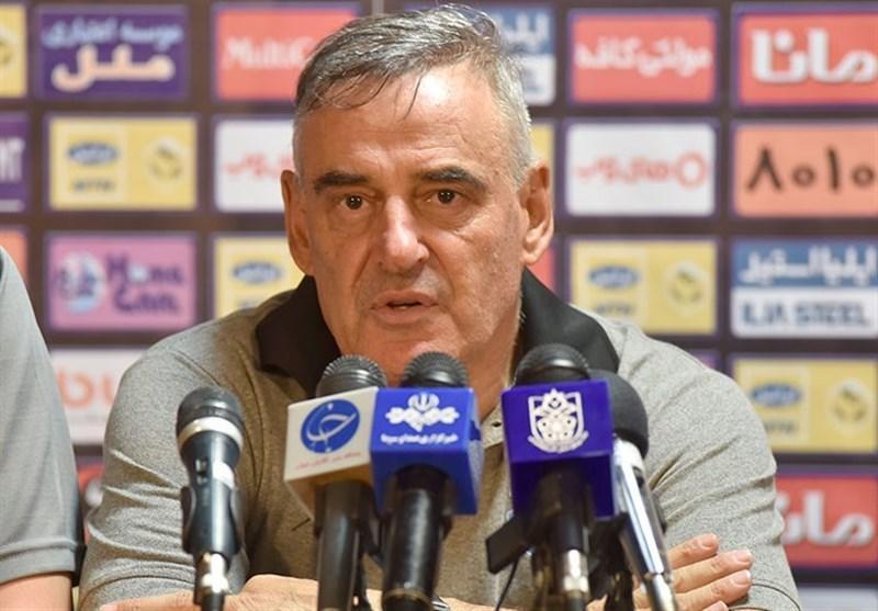 بوناچیچ: پیروزی را به فولاد هدیه دادیم، نمی توانم اشتباهات مان را هضم کنم