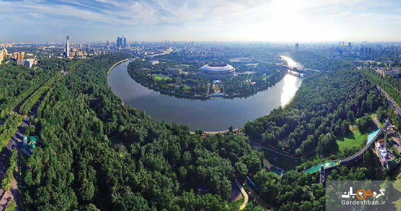 تپه گنجشک ها در بلندترین نقطه مسکو، عکس