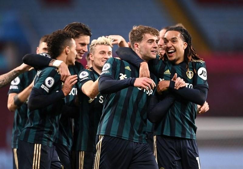 لیگ برتر انگلیس، صعود لیدز به رده سوم جدول با تحمیل اولین شکست فصل به استون ویلا