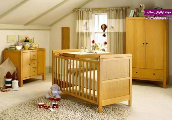 دکوراسیون اتاق خواب کودک با طراحی مدرن و شیک