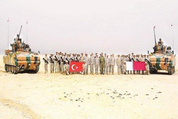 ترکیه و قطر رزمایش مشترک برگزار کردند