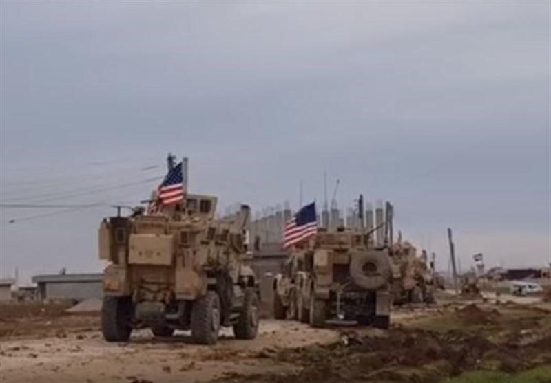 25 خودروی نظامی آمریکا از شمال سوریه به عراق منتقل شد