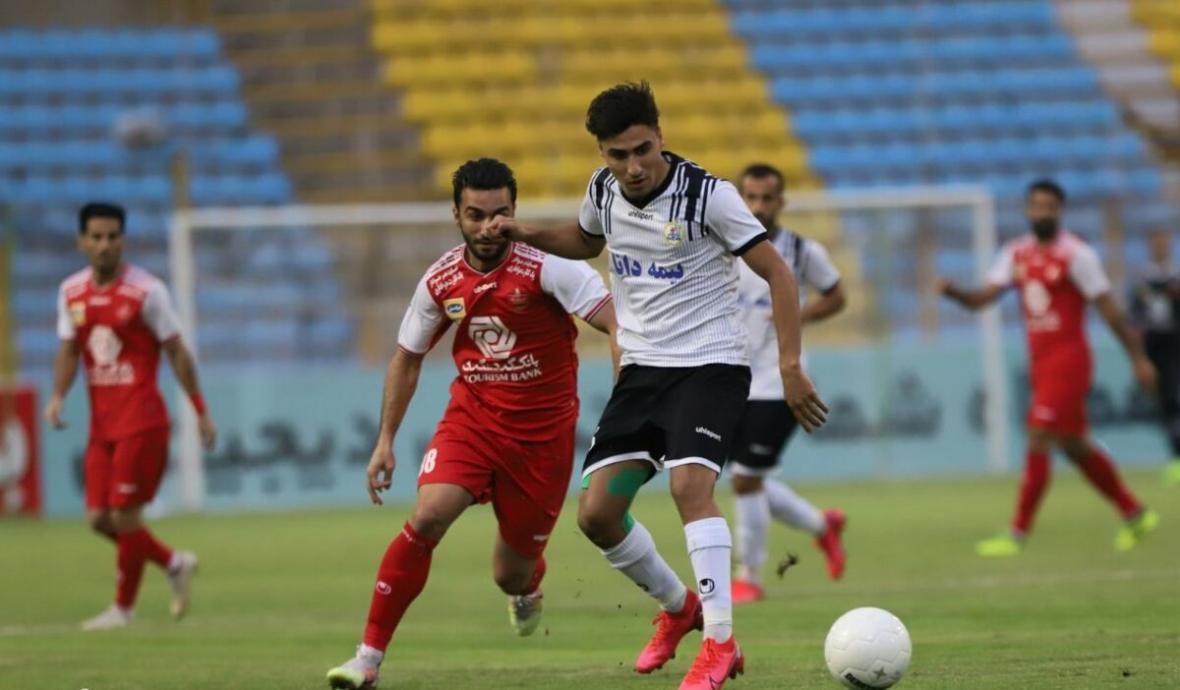 نفت مسجد سلیمان 0 - پرسپولیس 0؛ تیر دروازه مانع پیروزی شاگردان گل محمدی
