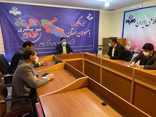 حضور مدیر عامل شرکت آب و فاضلاب استان در برنامه تلویزیونیمیز پیگیری