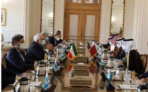 تاکید ایران بر گسترش همکاری با قطر در حوزه های مختلف