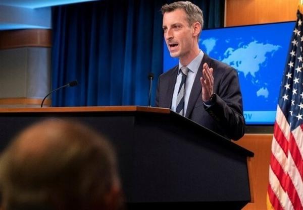 وزارت خارجه آمریکا: در خصوص تمدید و تقویت برجام با نمایندگان کنگره هم نظر هستیم خبرنگاران