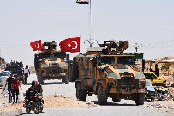 یک کاروان نظامی ترکیه وارد سوریه شد خبرنگاران