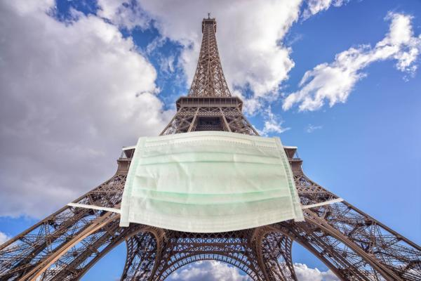 فرانسه سومین منطقه کرونا خیز در دنیا