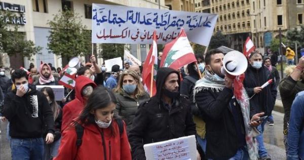 تظاهرات شنبه خشم در بیروت