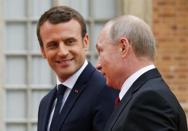 ماکرون: از خطوط قرمز در روابط با روسیه نباید عبور کرد