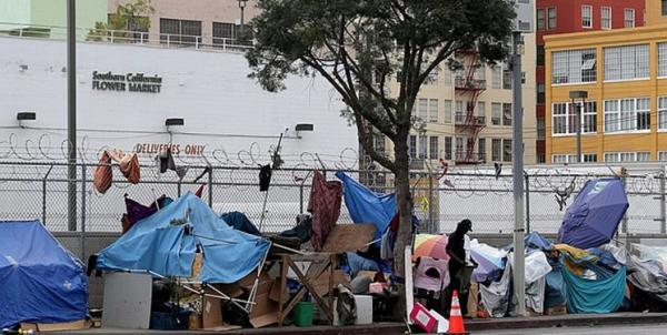 تخلیه اجباری بی خانمان های لس آنجلس از اطراف محل برگزاری مراسم اسکار
