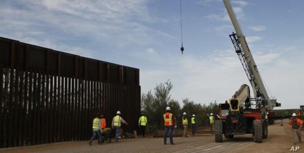 بایدن بودجه نظامی تکمیل دیوار مرزی را لغو کرد