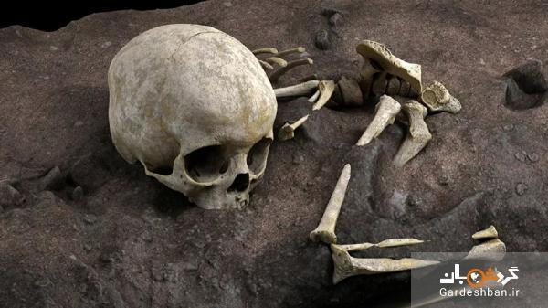 کشف بقایای اسکلت 78 هزار ساله یک کودک در آفریقا!