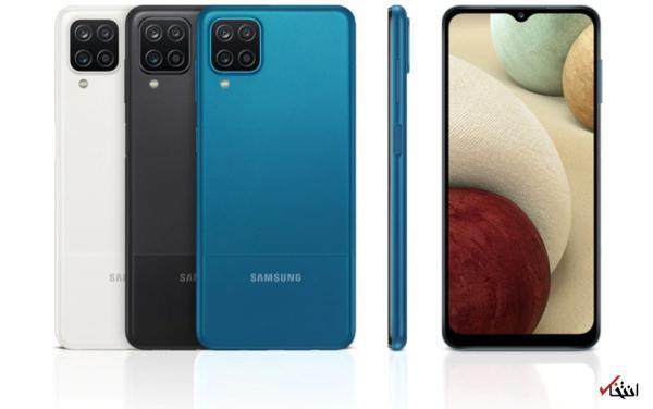 گوشی گلکسی A12 و A02 سامسونگ اندروید 11 دریافت کردند