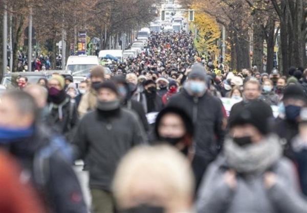 برگزاری 2700 تجمع اعتراضی علیه محدودیت ها در آلمان از شروع شیوع کرونا