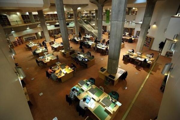 تالار های عمومی کتابخانه ملی بازگشایی شد