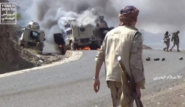 عملیات عظیم ارتش یمن در جیزان، حمله توپخانه ای عربستان به صعده، حمله پهپادی به پایگاه ملک خالد