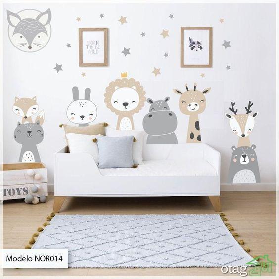 ایده بهترین و زیباترین دکوراسیون اتاق خواب کودک