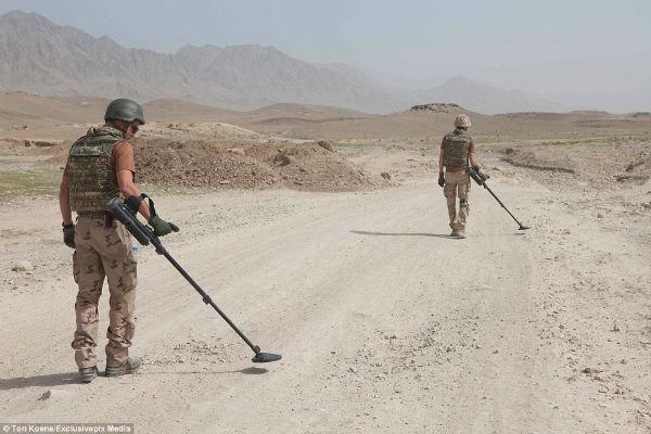 10 مین روب در افغانستان کشته شدند
