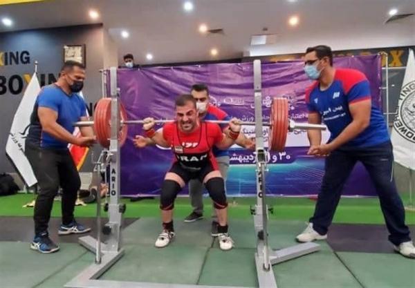 نایب قهرمانی نماینده ایران در کاپ جهانی پاورلیفتینگ