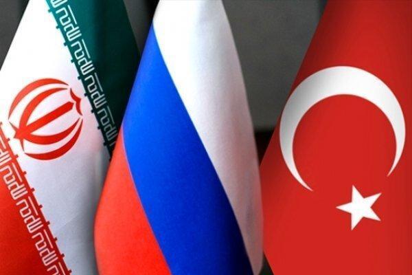 بیانیه ایران، ترکیه و روسیه درباره فرایند صلح سوریه