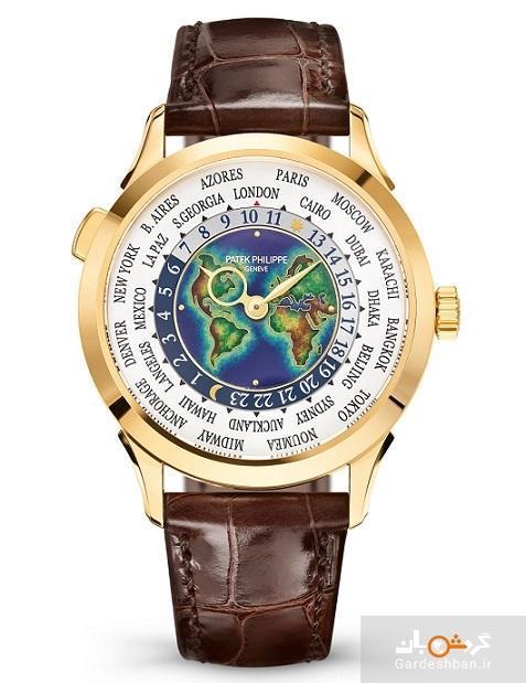 ساعتی به وقت دنیا؛ ساعت مسافرتی گران ترین برند دنیا را ببینید، چرا ایران 3.5 ساعت جلوتر از زمان مبدا است؟
