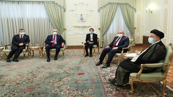 در ملاقات رئیسی و رئیس مجلس ترکیه چه گذشت؟