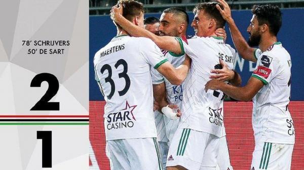 لیگ فوتبال بلژیک، اولین برد فصل اودهورلی با پاس گل کاوه رضایی